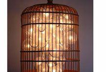 Birdcage light fixtures