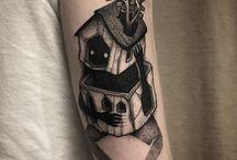 tatuagem joelho