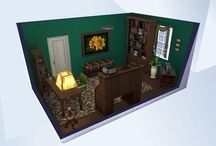Sims Builds Mine
