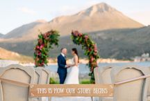 Greek wedding in Mani / wedding inspiration & ideas for your wedding in Greece.