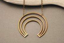 Visions Collection / Minimalist, edgy, bohemian statement jewelry