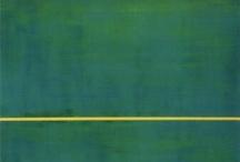 2e & 3e  Barnett NEWMAN (Art Abstrait/Expression. Abst. ; Américain) 1905-1970