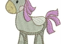 Machine embroidery pattern