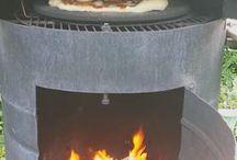 Al aire libre horno
