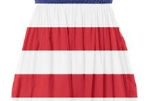 ╰☆╮★USA Fashion★╰☆╮ / Fashions Showing USA Pride ╰☆╮★http://www.facebook.com/USA.Proud.Shoutouts╰☆╮★