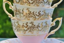 Tea cups & tea pots