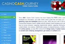 Casino Guide / Casino Cash Journey is a comprehensive portal presenting the reader with endless information about the online casino world. CasinoCashJourney.com offers visitors a wide range of resources – from a player who is new in the market and needs to find out what types of games are available at different casinos, to players who want to perform a through comparison of which bonuses are available.