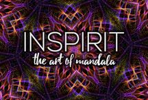 Inspirit Art / Inspirit is a relaxing painting app for creative souls that lets you create mesmerizing mandalas and kaleidoscope artworks and watch them slowly evolve in time.