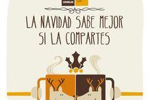 Promoción Navidad 2014 / El café sabe mejor si lo compartes. La Navidad sólo es Navidad si la compartes.  Elige tu mensaje, vótalo y compartelo para ganar un año de productos Candelas gratis.  -->https://premium.easypromosapp.com/p/29148?lc=spa