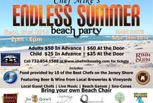 Chef Mike's Endless Summer Beach Party / On Sept. 21st, Chef Mike's ABG presents the Endless Summer Beach Party! The best chefs in New Jersey, local breweries & wineries, and live music right on the beach! For all the details & to buy tix: http://usahometownheroes.com/event-view/chef-mikes-endless-summer-beach-party