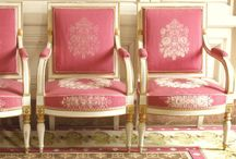 """French Decor and French Style / Whether it is French country, formal grand salons or beautiful parterre gardens, the French have a distinctive and unique way of expressing their many gifts and talents. It is almost always """"too much"""" for the conservative and undaring, which is of course what we love most about French style! There is an abundance of gold, gilt, layers, color, architectures, furnishings. I like to look at this spiritually and think of it as an abundant view of life - always more than enough! / by Karen House Morrison"""