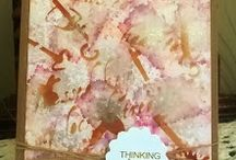 Alcohol Ink projects by Terri Koszler