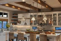 Kitchen and living room / Ideas for kitchen and living room