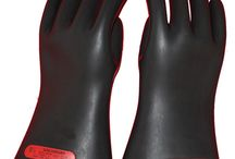 George / Electrical gloves are one of the things that are considered as a primary safety tool when working with electrical equipment or wires that may produce enough voltage to shock you.
