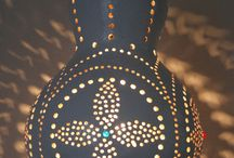 Turkish Gourd Lamps