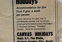 Canvas in den 60ern / Seit 50 Jahren sorgen wir nun schon dafür, dass Euer Campingurlaub komfortabel und erholsam ist. Wie alles angefangen hat, seht Ihr hier.