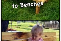 Kids picnic table ideas
