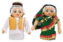 Handicraft - Cute Indian Dolls