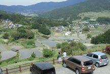 Views of Ena (Gifu, Japan)