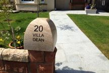 Stone Lettering  / Stone Lettering - http://www.bbsnaturalstone.com/specialist-services/lettering/