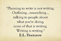 Write.  / by Melinda Linscott