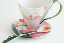 Tea time with Franz Porcelain / Style for an Afternoon Tea. A moment to remember!