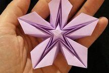 Origaminé e Artes com papel ^-^