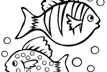 Ricami pesci