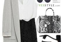 Bags - black white