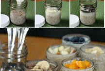 Overnight jar breakfast