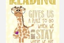 Enjoy a good book / by Alana Covington