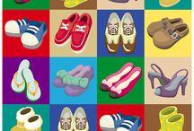 Cipős rajzok