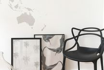 DIY / DIY with Tenue de Ville's wallpapers - an other and original way to use wallpaper