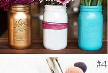 DIY Mason Jars / by Jamie Corbett