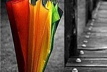 Sombrinhas / Sombrinhas, chapéus-de-chuva. Parasols, umbrellas.