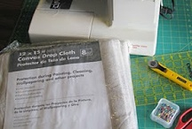 ≡ Drop Cloth Sewing and Crafts / by Joyce