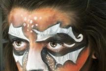 Sahne Makyajı - Theatrical Makeup - Face Painting