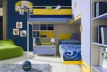 Camerette / Idee e consigli per arredare la cameretta per il bambino, mobili, letti, accessori, armadi per i kids.
