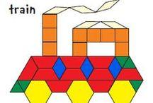 Wzory mozaika