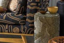 african wax print upholstery