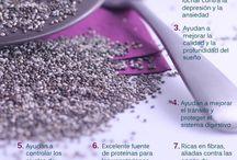 Semillas, granos, deshidratados y otros