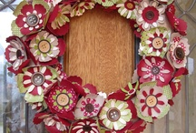 Stampin Up CHristmas Wreaths
