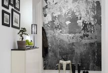 Industrial Chic / Industrial interiors inspiration for stylish family living. Concrete, metal, exposed brickwork and plenty of polished surfaces juxtaposed with raw materials.