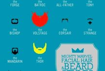 Beards & Moustaches / by Erin Wiley