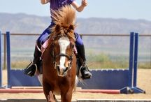 equestrian || kids with ponies