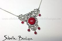 Colliers gothiques - [www.sibelleboutique.com]