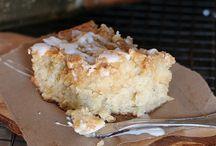 banana bread crumble cake