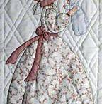 patchwork niñas con pavas