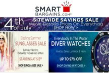 SmartBargains Coupon Codes / Smart Bargains is an online shopping destination for smart shoppers. They deal in sunglasses, watches, fashion apparel, fragrance, home goods, jewelry, bedding, handbags and much more at very affordable prices For more smartbargains coupon codes & deals visit http://www.couponcutcode.com/stores/smartbargains/