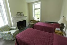 Bed and Breakfast / Looking for a comfortable setting for an overnight stay near Philadelphia? Come to Pendle Hill. Beautiful 23-acre grounds with a mile long woodchip trail, ponds, and 140 species of trees and flowering shrubs. Comfortable private room with bed and desk. Three delicious homemade meals a day, made with local and organic ingredients, and the opportunity for mealtime conversation with the Pendle Hill resident community. High Speed Wireless Internet Access Points and a dedicated computer room.